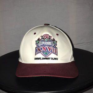 Superbowl 27 1993 Vintage Snapback Hat